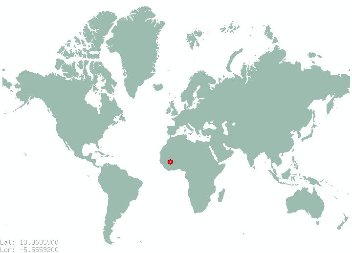Medina On World Map | autobedrijfmaatje